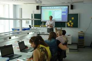 Ханнанов Н.К. проводит обучение учителей по физике